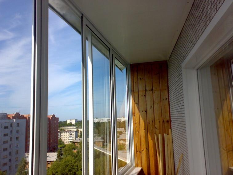 Персональный сайт - алюминиевые балконы.